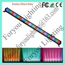 Customized new style 252*10mm rgbw led wall washer light bar