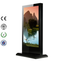 70 Inch Full HD TV Advertising Touch Display