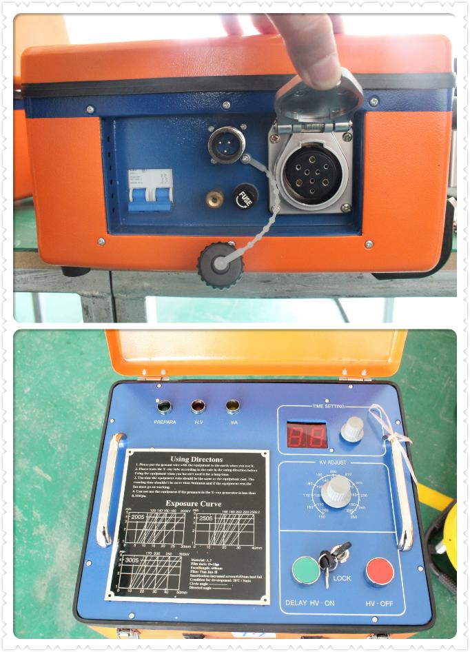 DanTan XXG-3005 NDT Lightweight Portable X-ray Flaw Detector Testing Equipment