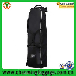 travel cart golf bag with wheels/design your own waterproof golf bag wholesale