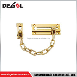 China manufacturer Gold plated decorative metal chain door curtain