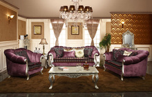 classic italian hand carved living room furniture/solid wood carving antique furniture YG1044