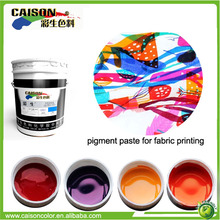 National standards resistant pigment colors for screen printing