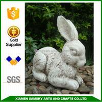 garden figurine resin rabbit animal figurine