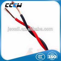 Copper core l fire resistance 600V twin electrical wire cable