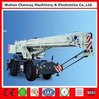 Hot sale new arrival RT35 Zoomlion rough terrain crane 35 ton off-road crane high speed crane truck