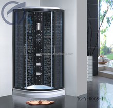Shower cabinet/high grade shower steam room portable steam room/computer controlled steam shower room