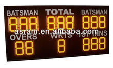 LED basketball electronic scoreboard display/led time basketball score