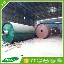 High Performance Used Tire Gasification Machine To Pyrolysis Oil