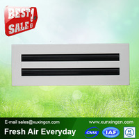 HVAC system linear slots aluminum ventilation grille