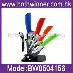 H0t09 colored ceramic knife set, kitchen knife ,chef knife sets for kitchen