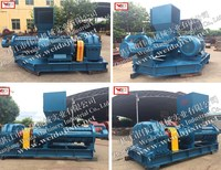 Natural Rubber Inner Tube Rubber Processing Machine Helix Crushing and Breaking Machine