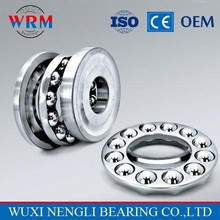 Two-way thrust ball bearing 52206, High performance rock drilling machine bearing