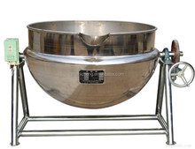 fully automatic industrial steam cooking pot