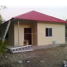 the low cost prefab private villa housewith a realistic price and budget/prefabricated house prices