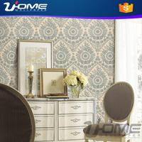 uhome New Modern Fashionable Cheap Vinyl Wallpaper Stocklot for wholesale