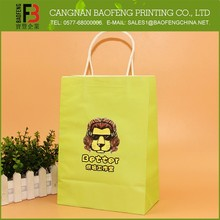New Fashion Modern Gift Paper Bag Packaging