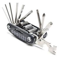 15 in 1 Pocket Size Multi-function Bicycle Repair Tool Kits