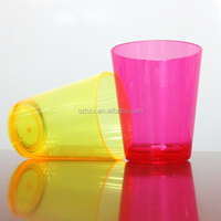 heat resistance plastic cup for smoothie/ plastic pudding cup