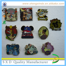 Beautiful soft enamel personized art and collectible souvenir