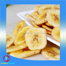 Frozen dried banana organic fruit sliced dried banana in bulk