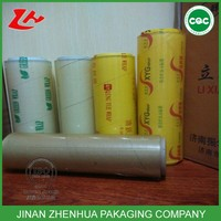 good gloss fresh fruit food wrap food grade pvc cover cling film wrap