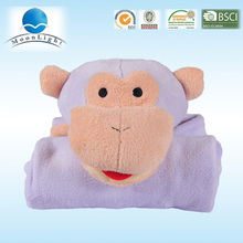 La manta morada de ovejas para bebe mas hermosa, buena para la piel