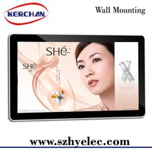 Best OEM touch 42inch wall mounted video screen advertising diaplay