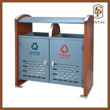 Classical environmental classification outdoor waste bin