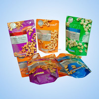Plastic Standing Dry Food Packaging with Zipper