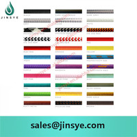electric 2 cores 3 cores round or twisted wholesale cotton textile braided cord wire braided cable