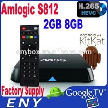 Ultra HD 4K Set Top Box Amlogic S812 Android 4.4 XBMC Quad Core Smart Tv Box