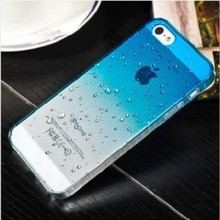 Raindrop Crystal Clear Hard Plastic Cell Phone Case for Iphone5c