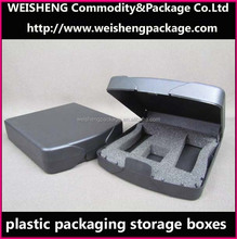 Clear acrylic Plastic Storage Case / StorageBox/Videos Packing Box/Hard Plastic