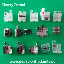 Teeth Brace 20pcs Oral Therapy Equipments Orthodontic Bracket