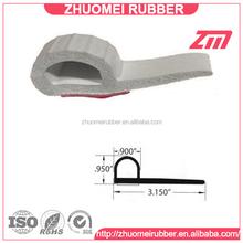 Auto RV Rubber parts Slide Out Door Seal, P shape