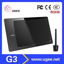 2048 level 220RPS 5080LPI 9 inch led drawing tablet
