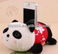 plush phone holder/funny cell phone holder plush toy/mobile phone holders