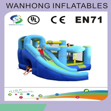 Giant inflatable water slide bouncy castle with pool /bouncy castle for children