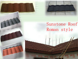 new modern asphalt shingle roof panel stone coated metal roof tile