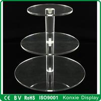 customized acrylic cake stand