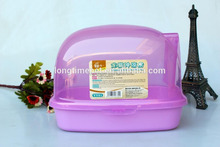 Superior plastic customized Chinchillas' bathroom/rabbit bathtub/small pet's shower cage for sale