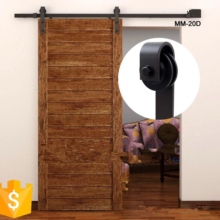 barn wood solid wooden sliding doors fancy door with