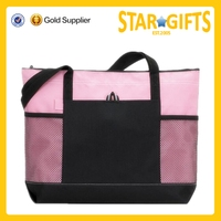 China Supplier Wholesale Top Selling Customize Polyester Shopping Tote Bag No Minimum