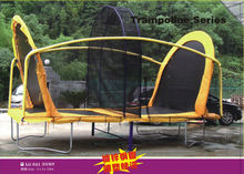 trampoline with basketball hook