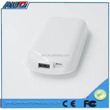 China manufacture APS + PC mouse mobile phone charger power pack 5200mah