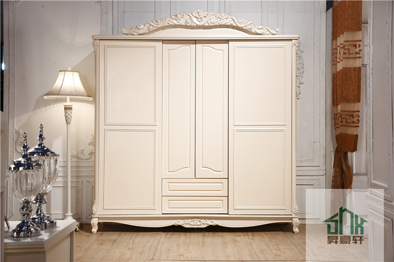 French Style Antique Bedroom Furniture Ha 913 Wooden