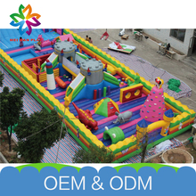 Golden Supplier Interesting Inflatable Playground Safe Pvc Jumping Castle Inflated Bouncy