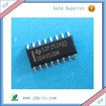 CMOS Analog Multiplexers/Demultiplexers with Logic Level Conversion CD4052BM