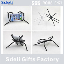 2015 hot sell new production silicon spider GPS mobile phone holder factory direct selling
